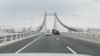 Tokyo highway drive 4K 2016