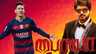bhairava teaser messi versionmessi the boss