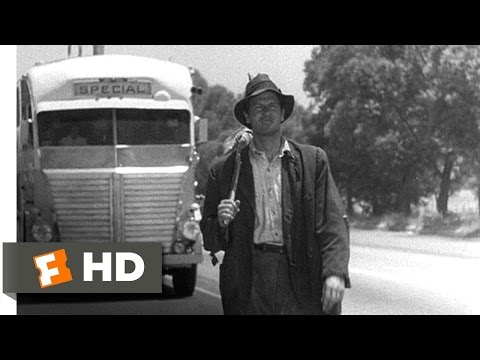 Sullivan's Travels (3/9) Movie CLIP - Ditching the Entourage (1941) HD