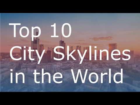 New York City, Dubai, Shanghai - Best City Skylines