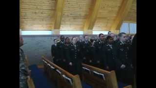 US Army Chaplain Assistant AIT Graduation Class Depature