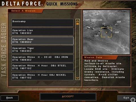 03 Bear, Delta Force: Task Force Dagger