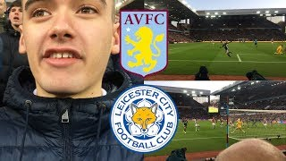 ASTON VILLA 1-4 LEICESTER CITY | 8/12/19 | *VLOG* | *BATTERED IN OUR OWN BACKYARD*