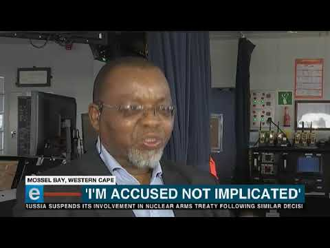Mineral Resources Minister, Gwede Mantashe says he's not corrupt