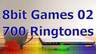 8bit Games 02 - For iOS Devices - iPhone, iPad - 700 Ringtones