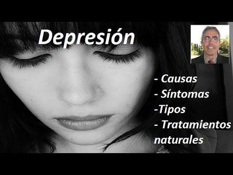La depresión, sus síntomas, sus causas y cómo abordarla desde la medicina natural