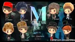 Super Junior M - 西風的話 Words Of The Westerly Wind + DL