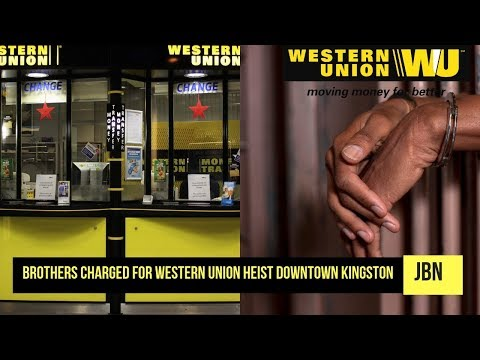 Brothers Charged For Western Union Heist Downtown Kingston/JBN