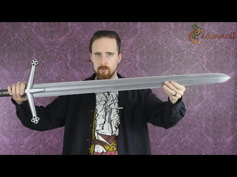 My Impression of a LARP Sword by Calimacil (The Highlander)