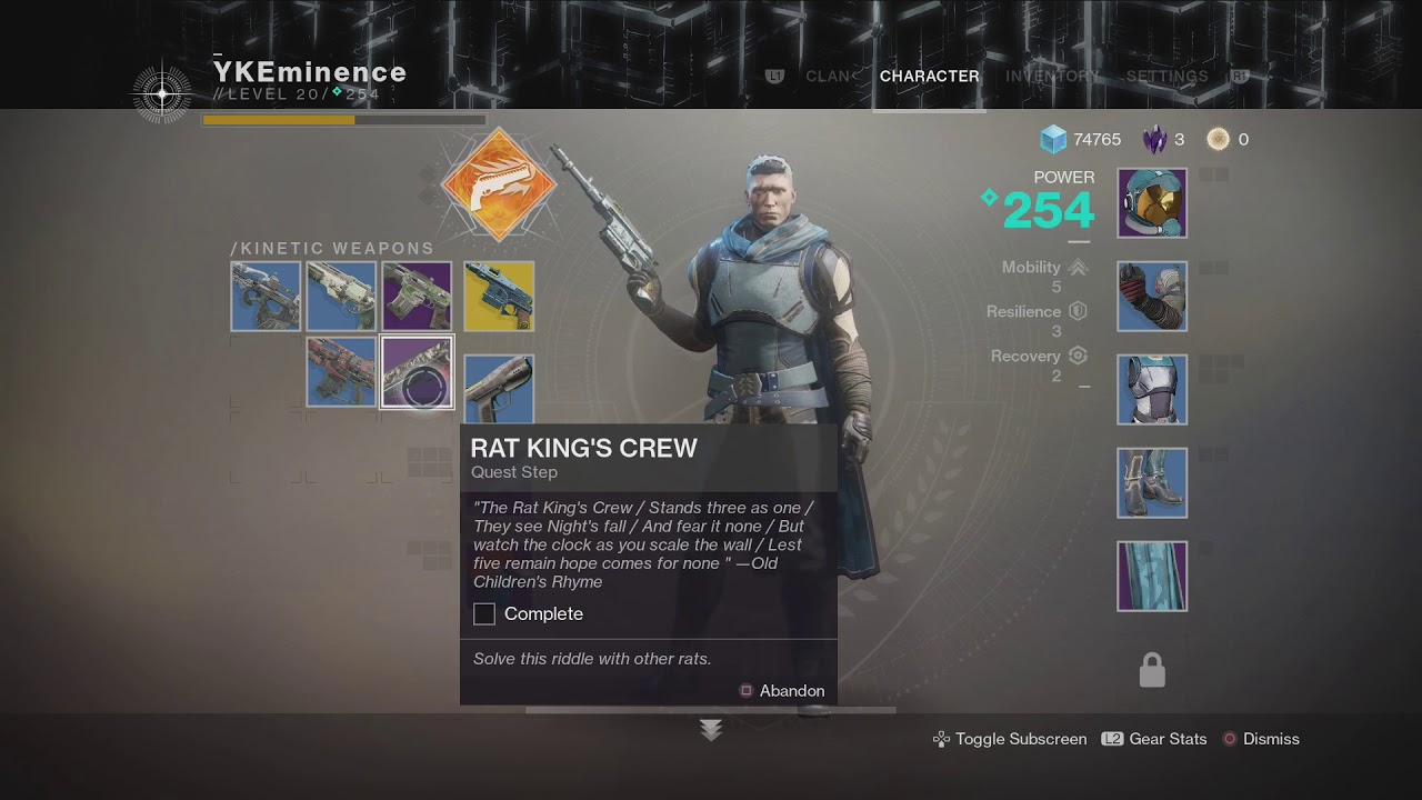 rat kings crew destiny 2