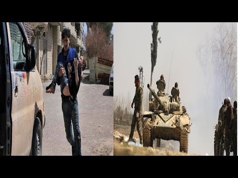 Syrian army cleaves rebel enclave of eastern Ghouta || World News Radio