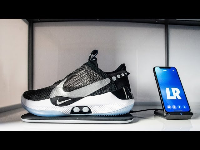 Criticism over Nike's self-tying shoes