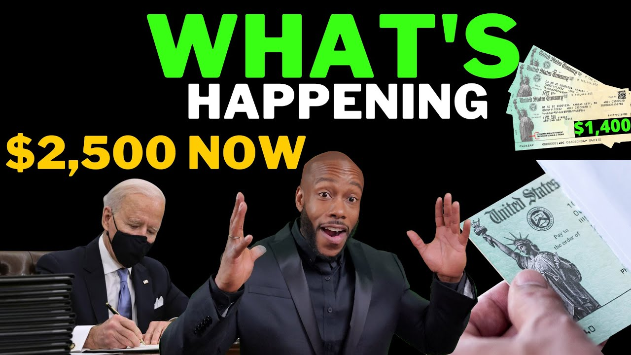 Download WOW BIDEN $2500 NOW!! $2000 4th Stimulus Check Update Today + SSI SSDI 3rd Stimulus [FINANCIAL AID]