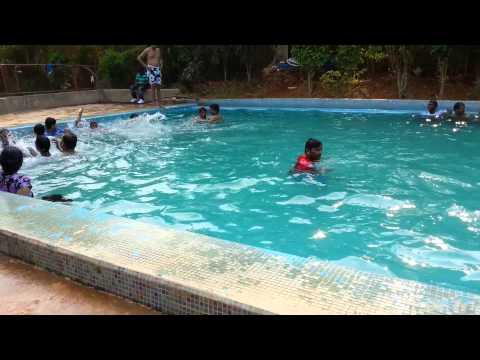 Swimming at Gruhantara in Bangalore by BrZee Team(2)