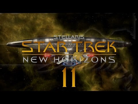 Stellaris Star Trek #11 STAR TREK NEW HORIZONS MOD - Gameplay / Let's Play