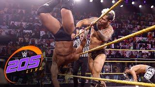 Ari Sterling & Asher Hale vs. Tony Nese & Ariya Daivari: WWE 205 Live, June 11, 2021