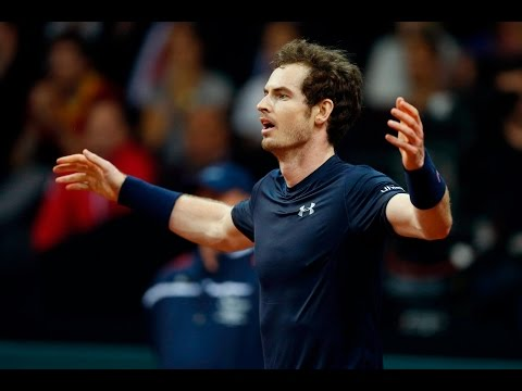 Shot of the Day: Andy Murray wins the crucial point