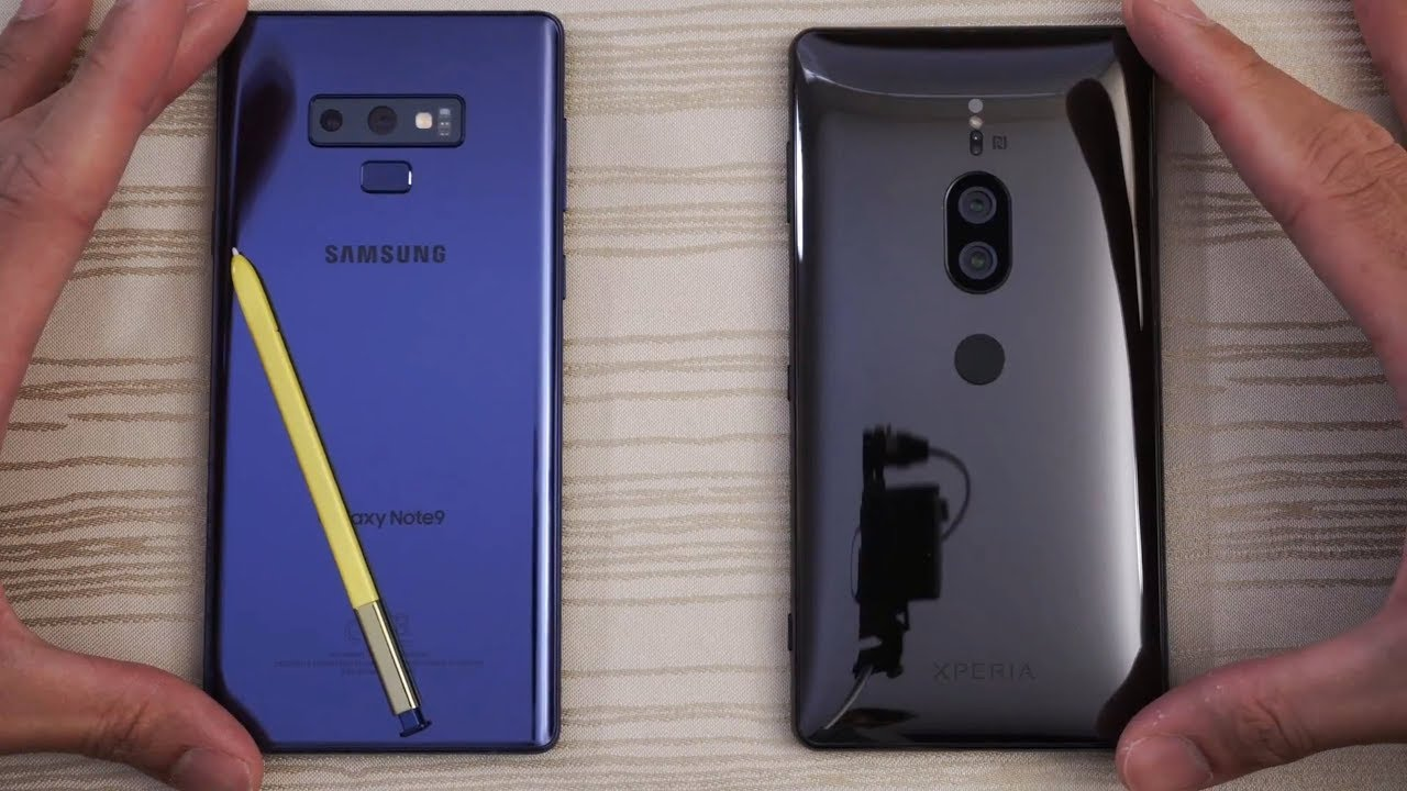 Samsung Galaxy Note 9 vs Sony XZ2 Premium - Speed Test! Which is BEAST?!
