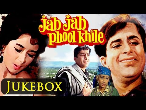 Jab Jab Phool Khile HD   All Songs   Jukebox  Shashi Kapoor & Nanda  Evergreen Songs
