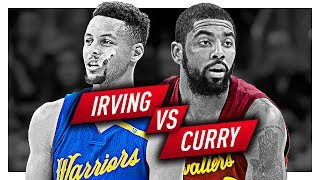 Kyrie Irving vs Stephen Curry EPIC Duel Highlights from 2016-2017 Season!