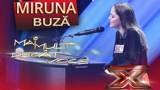 """Miruna Buză merge mai departe. """"Lie , ciocârlie"""", cadoul ei pentru jurati"""