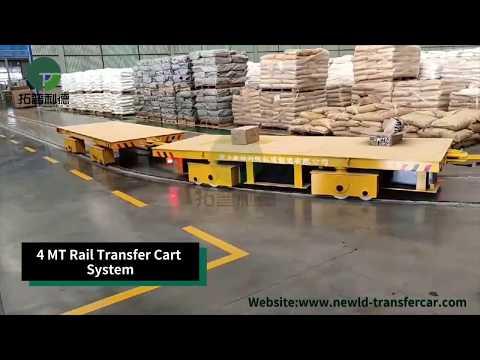 Material Handling Transfer Trolleys