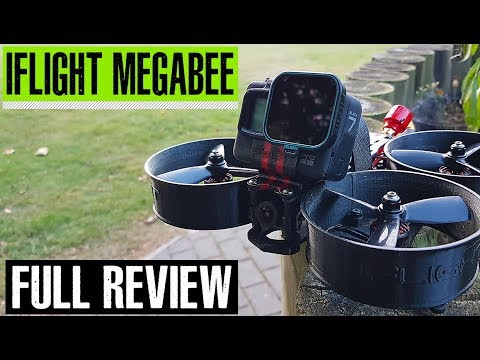 iFlight MegaBee v2 cinewhoop review // Who needs a DJI Spark or Yuneec Mantis ?