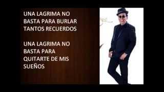 KARAOKE DE CHEBERE CON EL REY PELUSA UNA LAGRIMA NO BASTA