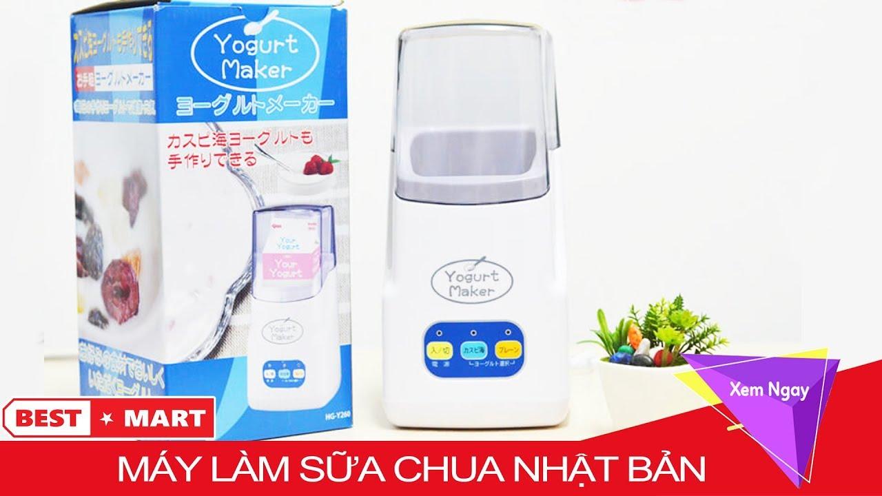 Máy Làm Sữa Chua Yogurt Nhật Bản – Cách Làm Sữa Chua Bằng Máy Yogurt 3 Nút