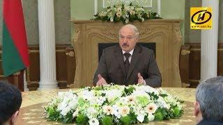 Президент Беларуси провёл встречу секретарями советов безопасности государств ОДКБ