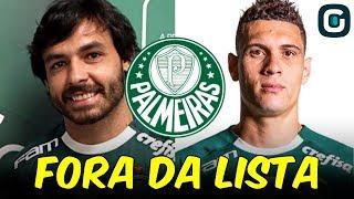 GOULART, MOISÉS e mais nomes FORA da lista do Palmeiras no PAULISTÃO (18/01/19)