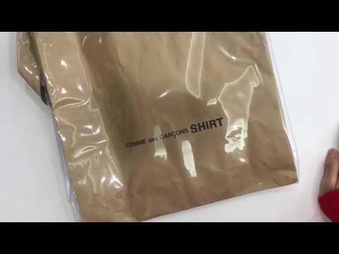[Maxed Out] A paper bag? comme des garcons pvc 2way paper bag