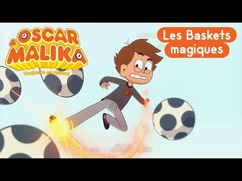 Coloriage Gratuit Oscar Et Malika.Oscar Malika Les Baskets Magiques Extrait Youtube