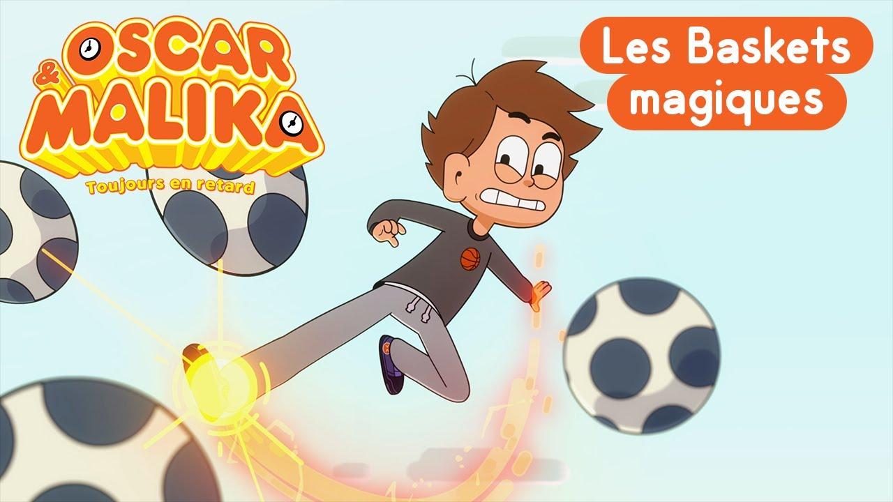 Coloriage Gratuit Oscar Et Malika.Oscar Malika Les Baskets Magiques Extrait