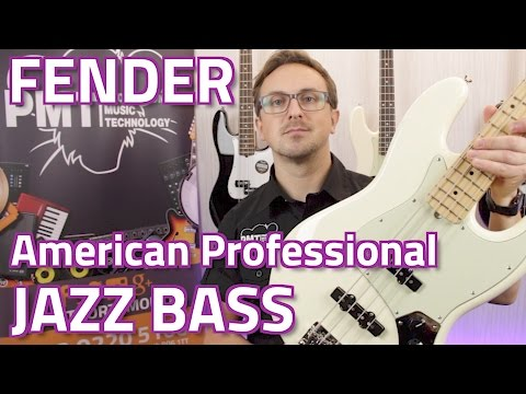 Fender American Professional Jazz Bass Review & Demo