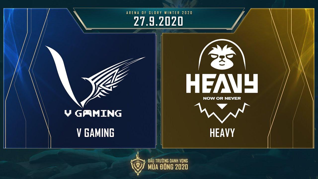V Gaming vs HEAVY | VGM vs HEV - Vòng 9 ngày 2 [27.09.2020] - ĐTDV mùa Đông 2020