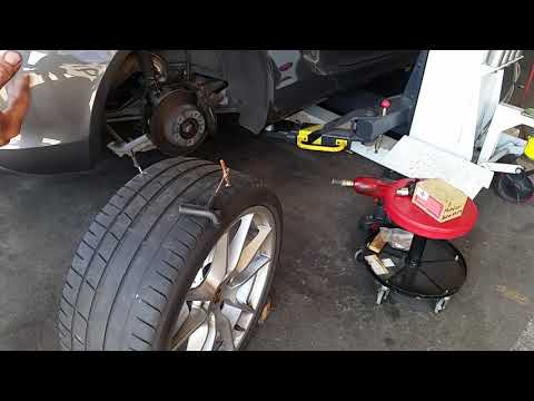 Quick tyre repair from outside