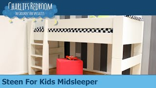 Steens For Kids Midsleeper - Charlies Bedroom