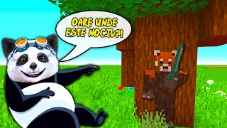 HIDE AND SEEK In Minecraft Cu URSUL PANDA! M-a Gasit?!