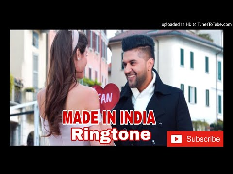 Guru Randhawa: Ringtone  MADE IN INDIA | Ringtone :Bhushan Kumar |  Ringtone