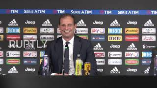 Italy: 'I leave a winning team' - Allegri says goodbye to Juventus
