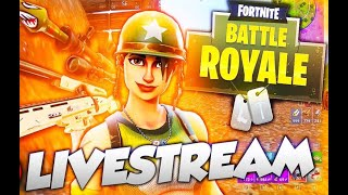 Fortnite Live Stream Trying To Get A Couple Wins!!