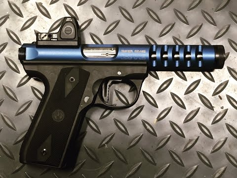 Ruger Mkii Iii Iv Low Profile Red Dot Mount