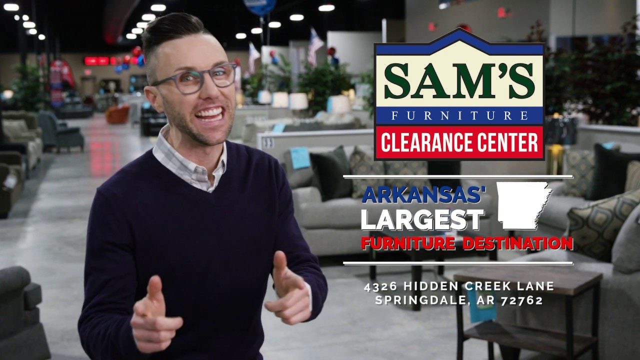 Brock In Our New Sam S Furniture Clearance Store Youtube
