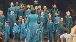 """CANTATA DE NATAL INFANTIL -  """"VIDA COM JESUS"""""""