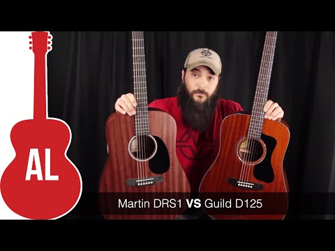 Martin DRS1 vs Guild D-125 Guitar Comparison
