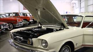 1966 Ford Mustang White