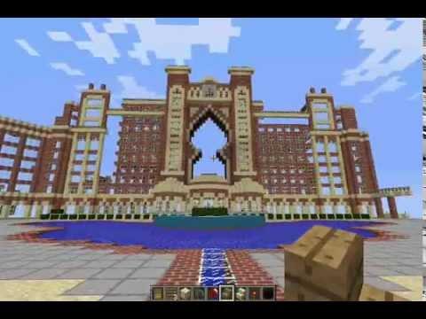 Minecraft Biggest Hotel Ever Youtube