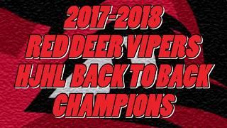 Red Deer Vipers 2017-2018 Season Highlights