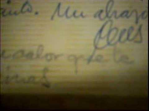 Caligrafía de Celestino Pérez Arróspide (1919-1980)